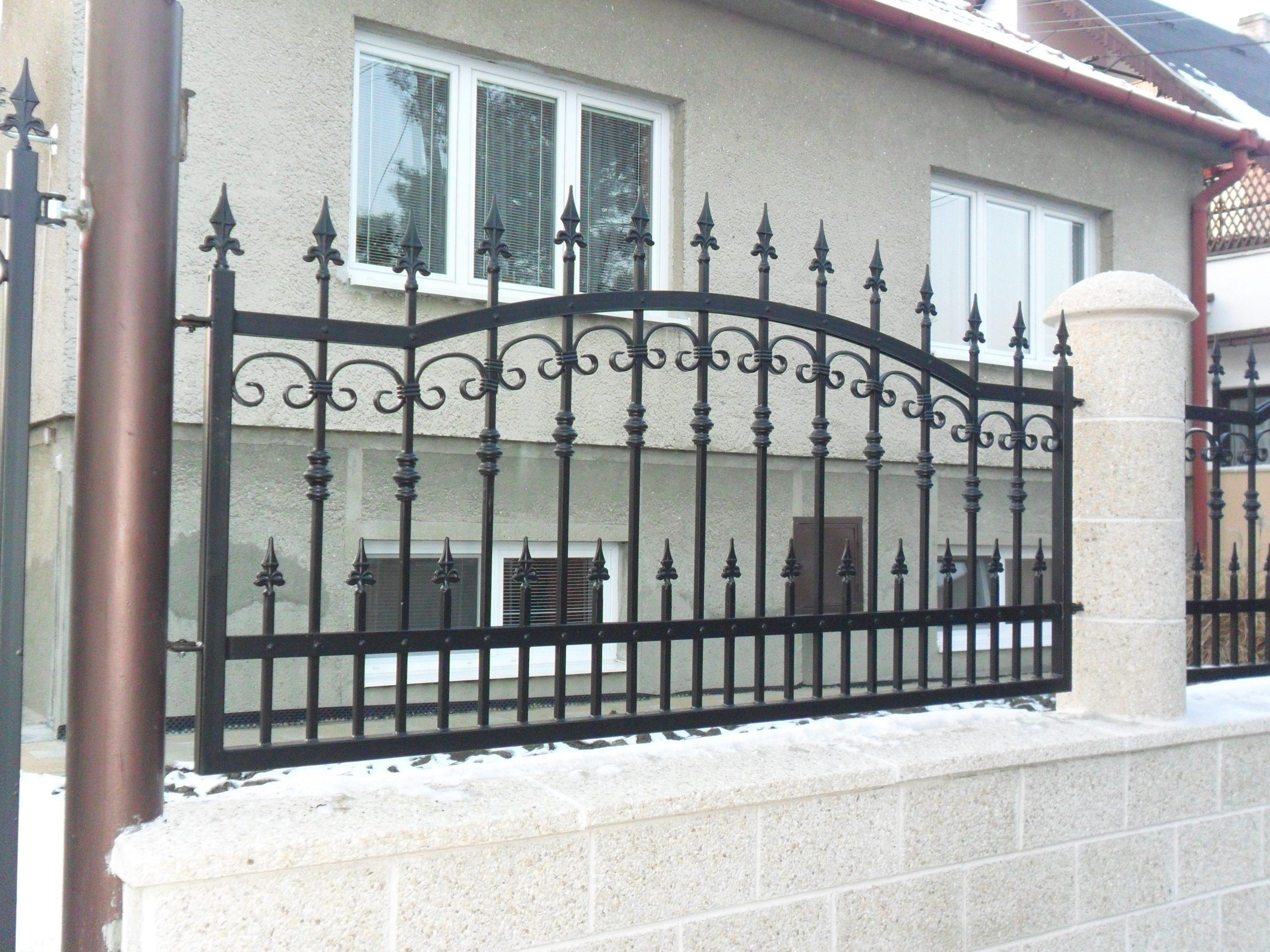 Kované ploty s unikátnym dizajnom