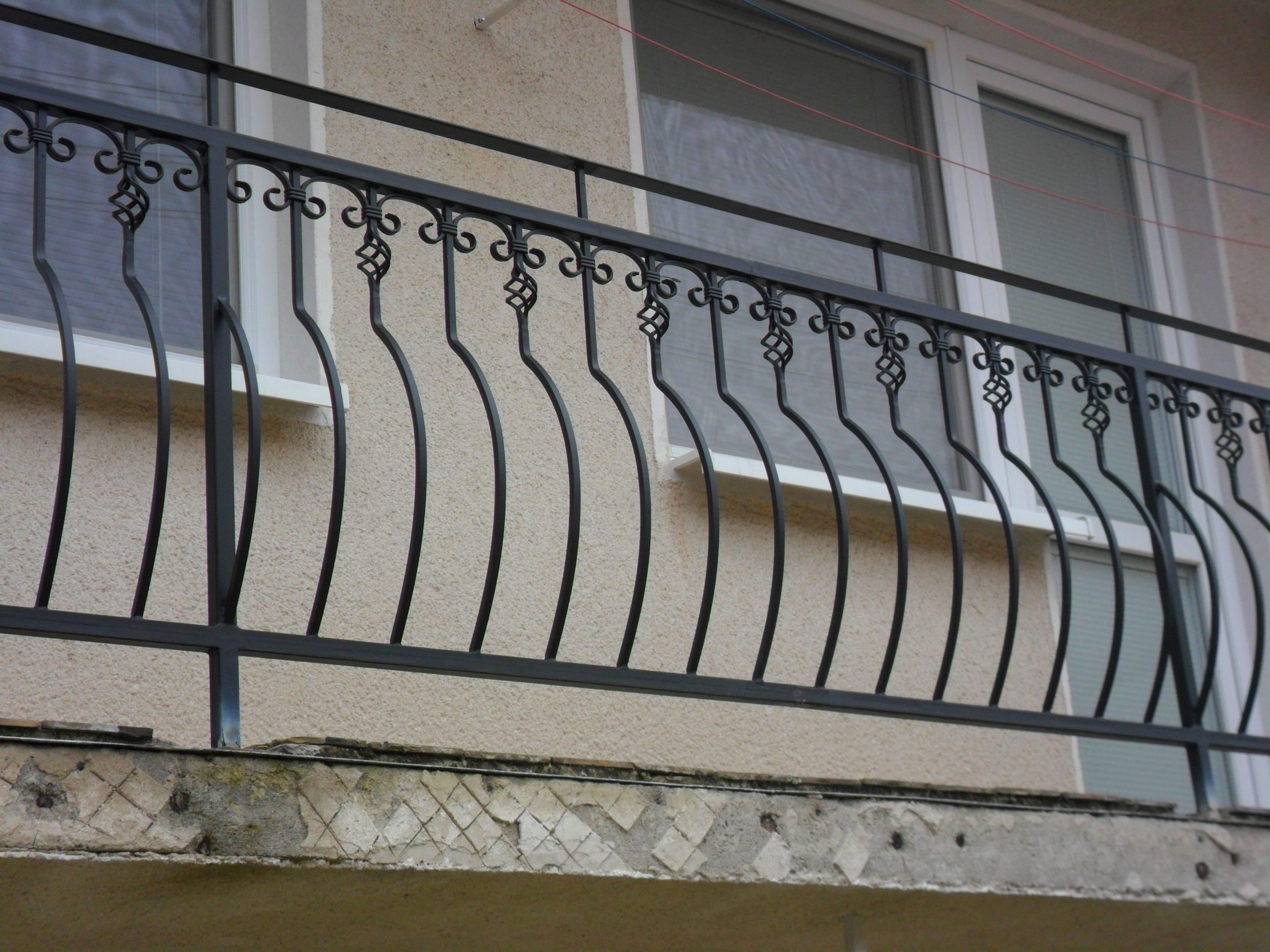 Kované balkóny a zábradlia